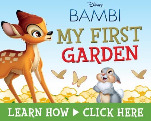 Disney BAMBI Printables, My First Garden Tutorial