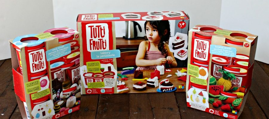 Help Your Child's Development with Tutti-Frutti Dough