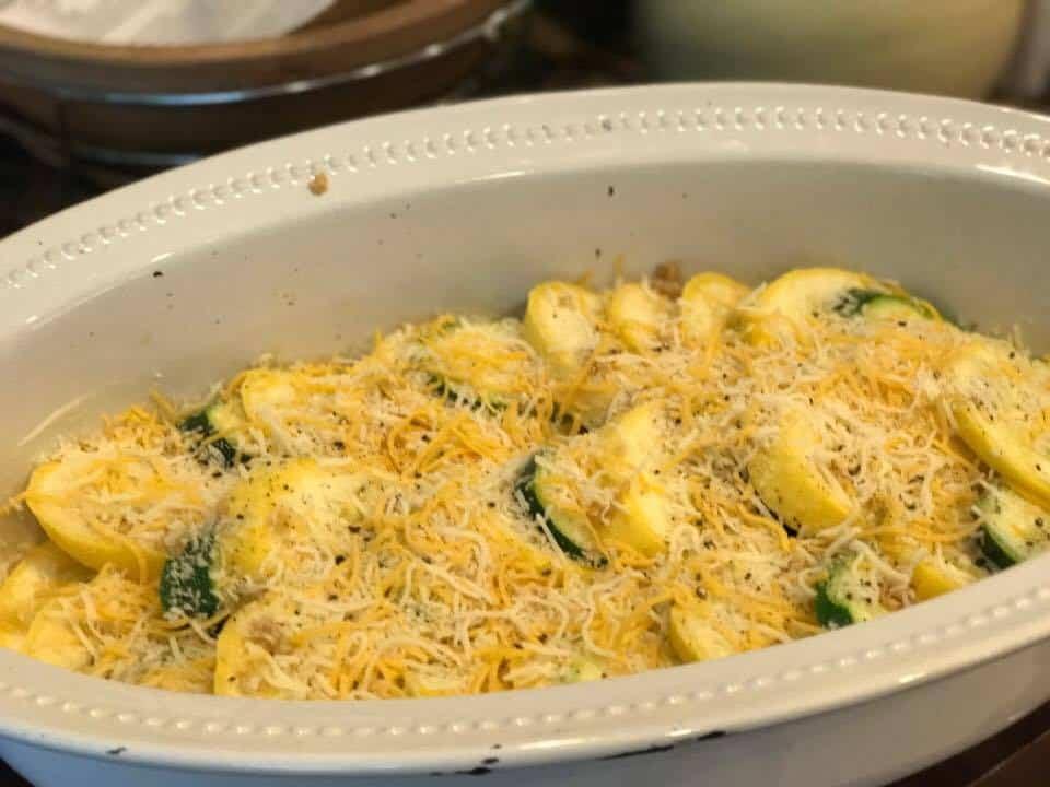Zucchini Squash Casserole Recipe_