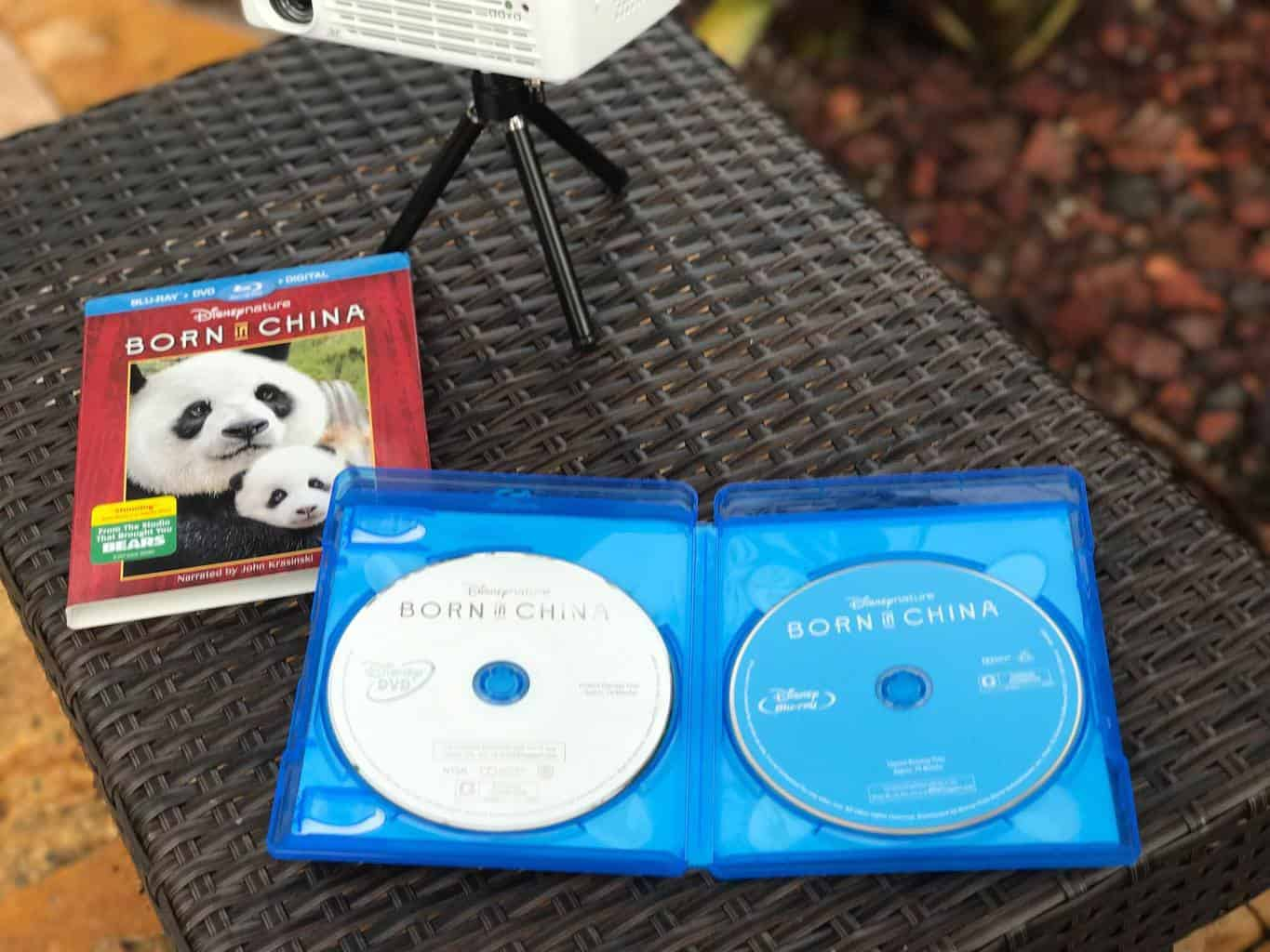 Disneynature BORN IN CHINA, blu-ray dvd