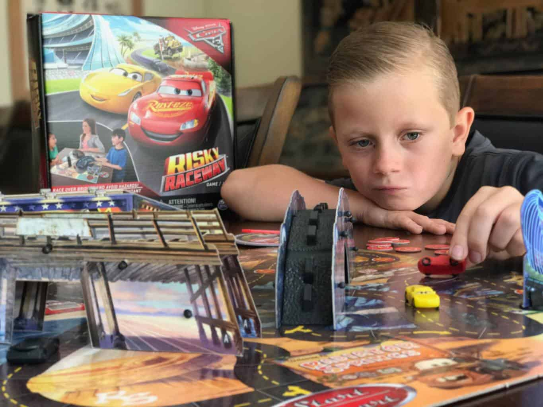 SpinMaster Games, developmental toys, CARS 3