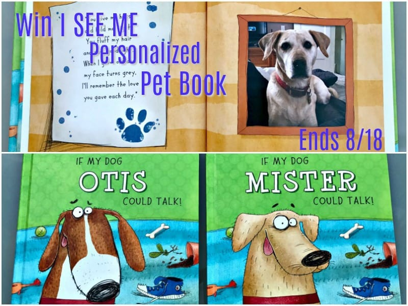 I See Me Personalized Pet Book