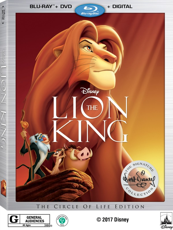 Disney movies, Lion Kind Blu-Ray DVD