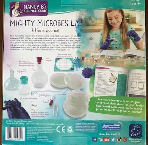 Nancy B Science Club, Mighty Microbes Lab, Educational Insights