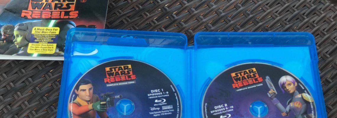 Star Wars Rebels Complete Season Three on Blu-ray And DVD