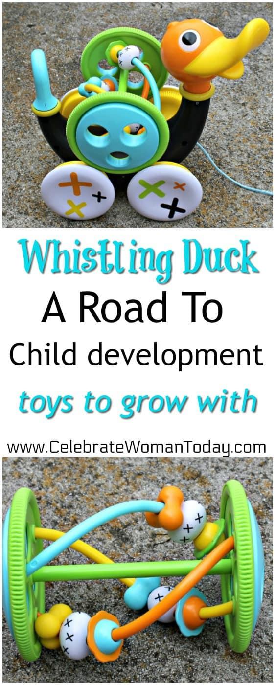Yookidoo Whistling Duck, Bathtub toys