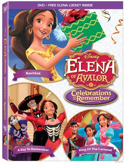 Elena of Avalor Celebrations To Remember on DVD as a holiday gift idea