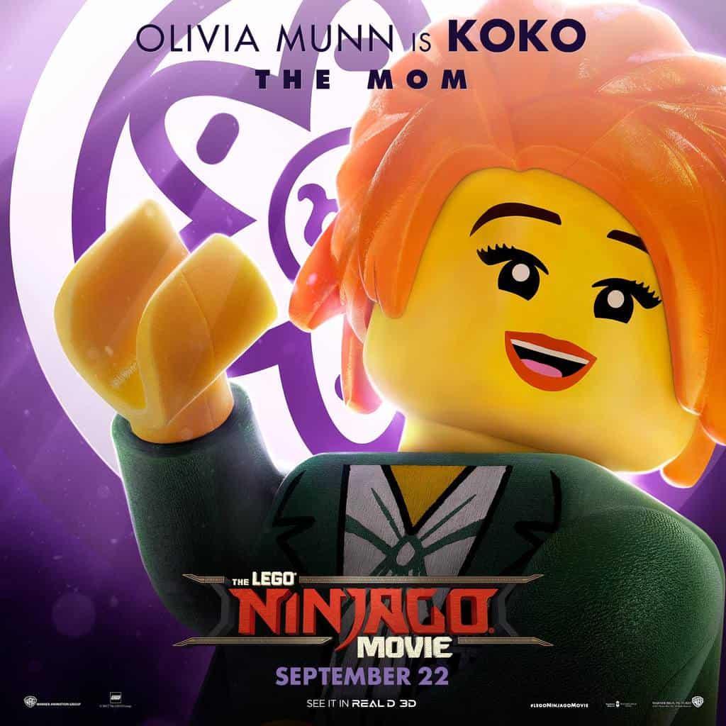 Ninjago Movie, Fandango