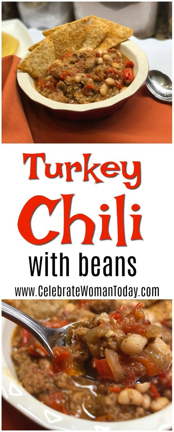 Turkey Chili Recipe with Beans
