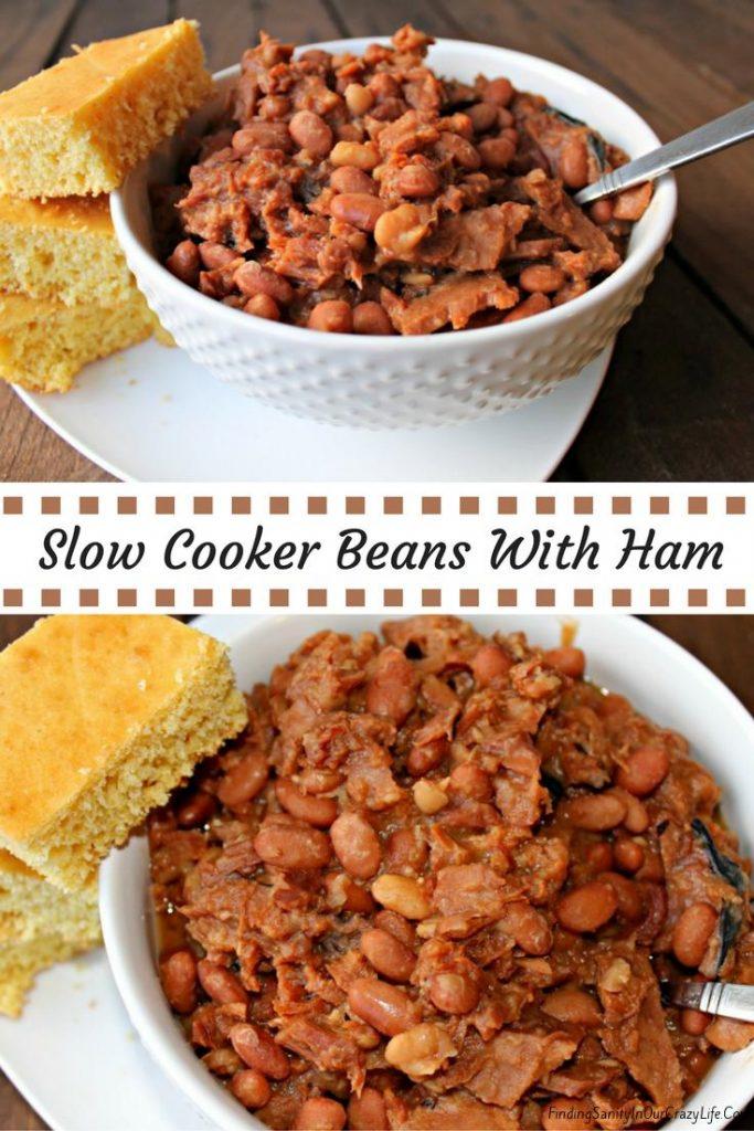 Crock Pot Beans and Ham Recipe