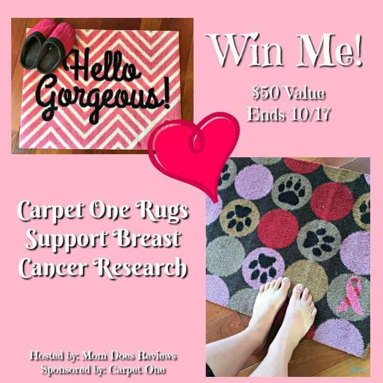 CARPET ONE rugs Breast Cancer Awareness Month
