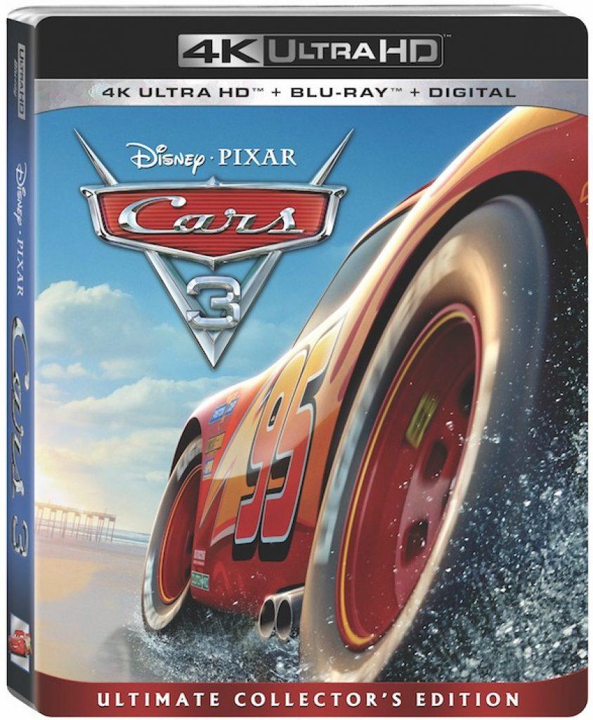 CARS 3 Disney Pixar Blu Ray DVD