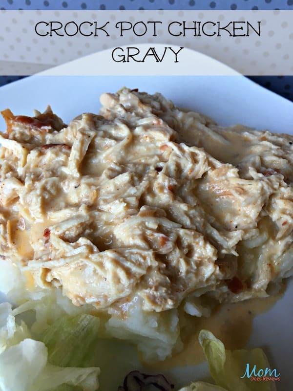 Crock Pot Chicken Gravy Recipe