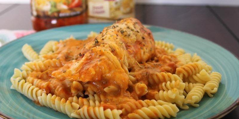 Crock Pot Italian Chicken #EasyDinners #RecipeIdeas
