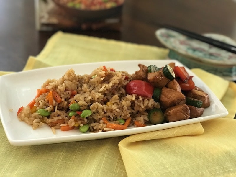 Asian Cuisine, Ling Ling Fried Rice