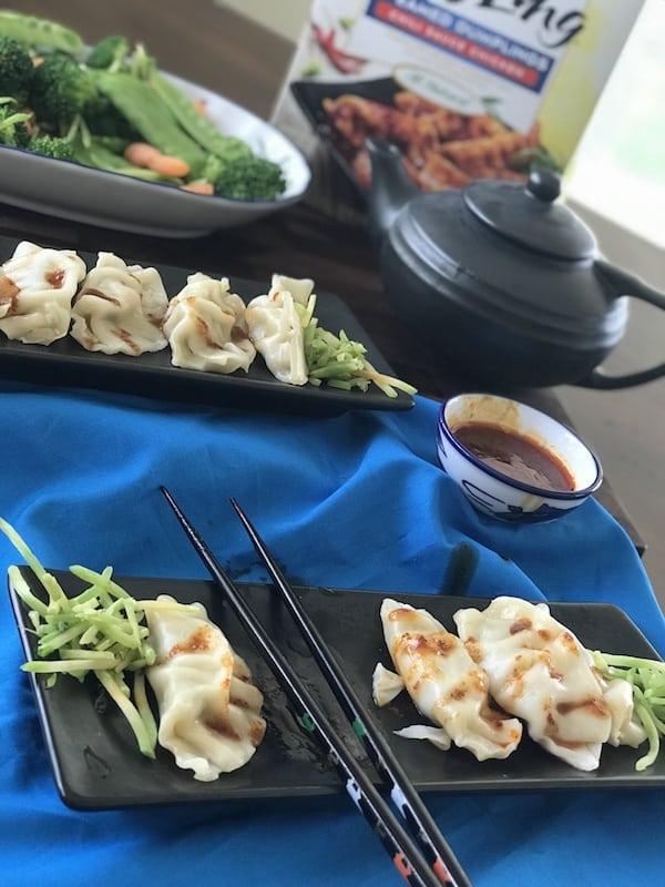 Ling Ling Steamed Dumplings, Easy Dinners