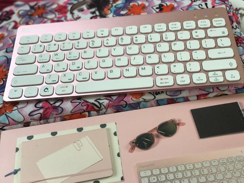 Pink Penclic Keyboard, Breast Cancer Awareness