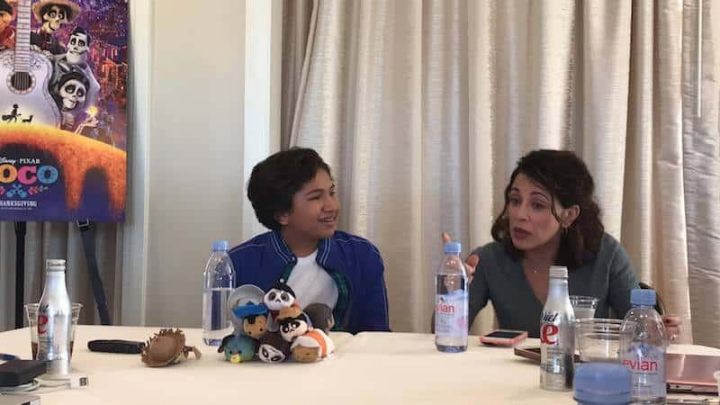 Disney Pixar COCO, Anthony Gonzalez, Alanna Ubach Interview
