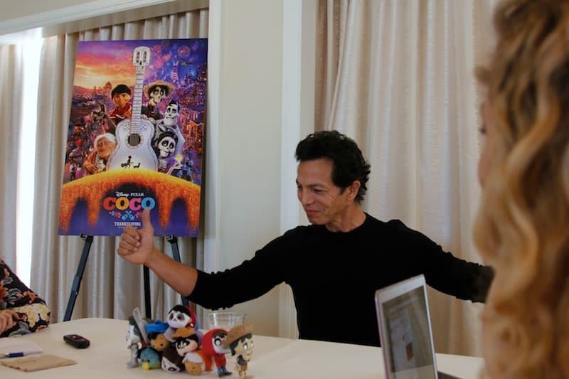 Actor Benjamin Bratt, voice of Ernesto de la Cruz, Disney Pixar COCO