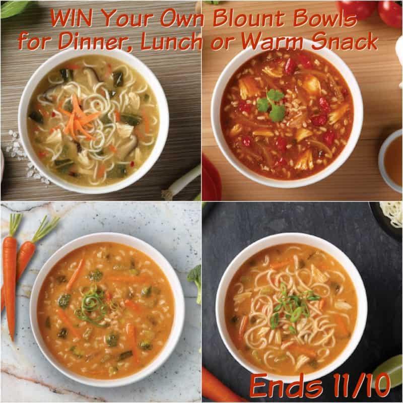 Blount Bowls soups