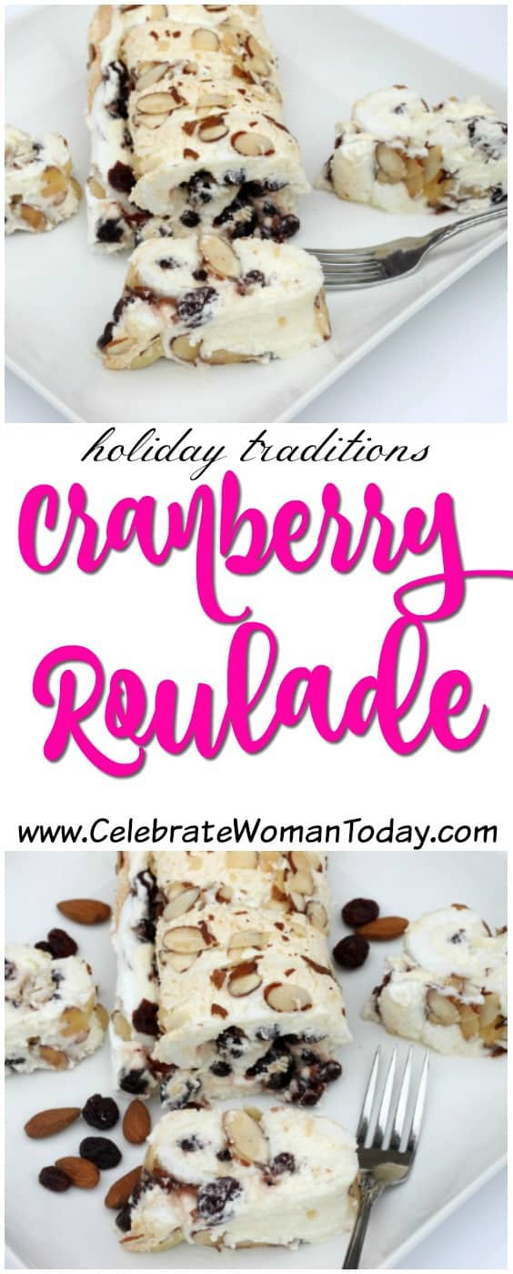 Cranberry Roulade Recipe, Holiday Recipes Traditions