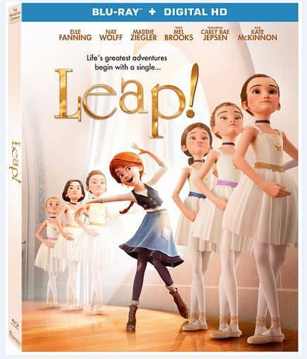 Leap movie, blu-ray DVD, Footloose shoes donation