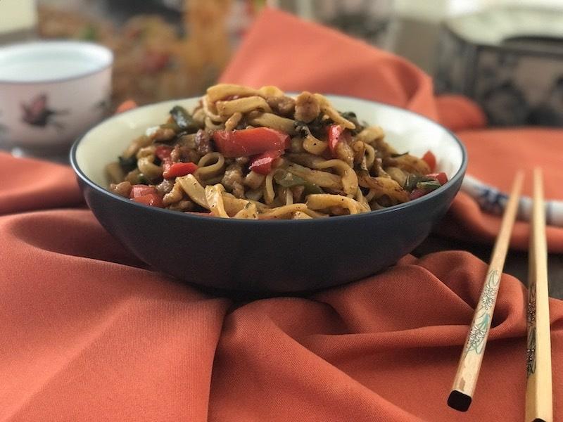 Ling Ling Noodles, Thai Cuisine Recipe