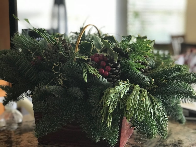 Lynch Creek Farm wreaths and center pieces