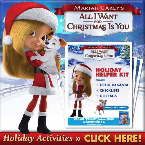 Holiday Printables, Mariah Carey Holiday Music Collection, All I Want for Christmas Is You