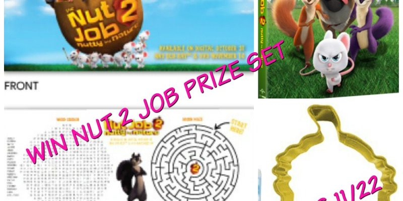 Who Wants To Win Nut Job DVD And Swag Items?