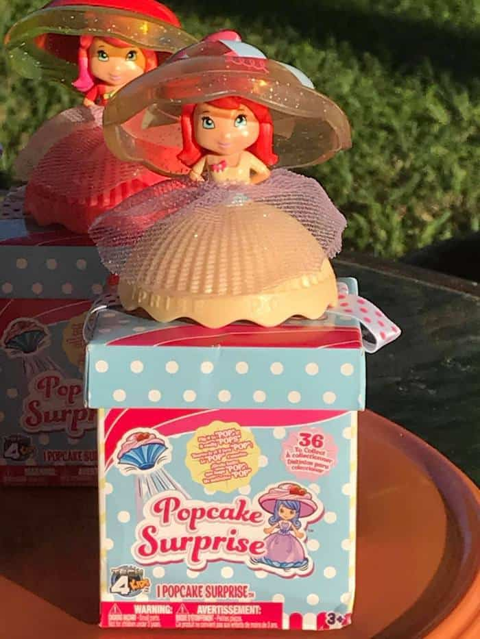 Popcake Surprise Dolls, stocking stuffers, birthday party favors