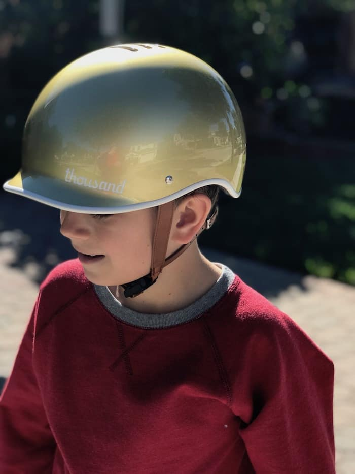 Thousand Bike Helmet, Limited Edition Stay Gold Helmet