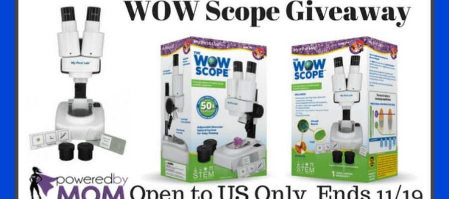STEM Gifts for Holiday Season, WOW Microscope To Win