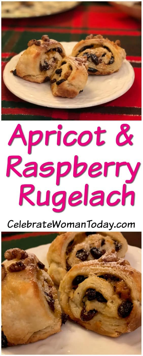 Apricot and Raspberry Rugelach Dessert Recipe