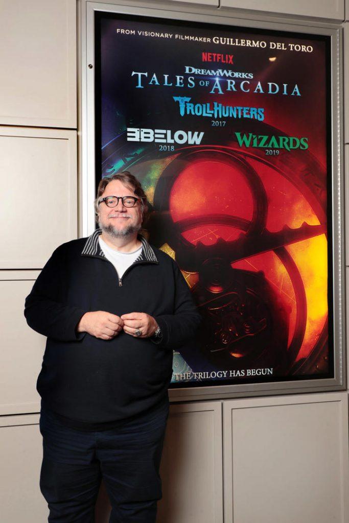 Trollhunters Netfilx Series, Producer Guillermo del Toro