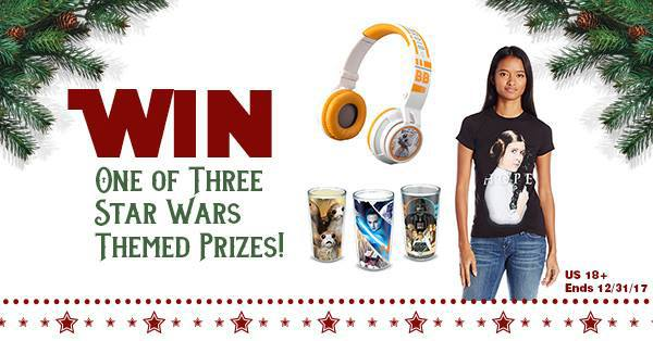 Win 1 of 3 Star Wars The Last Jedi Prizes! #MyWOWgift