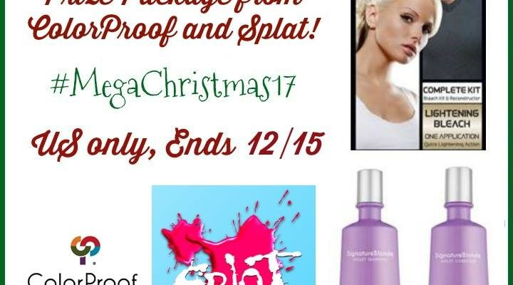 Holiday Hair Care Prize Package from ColorProof and Splat