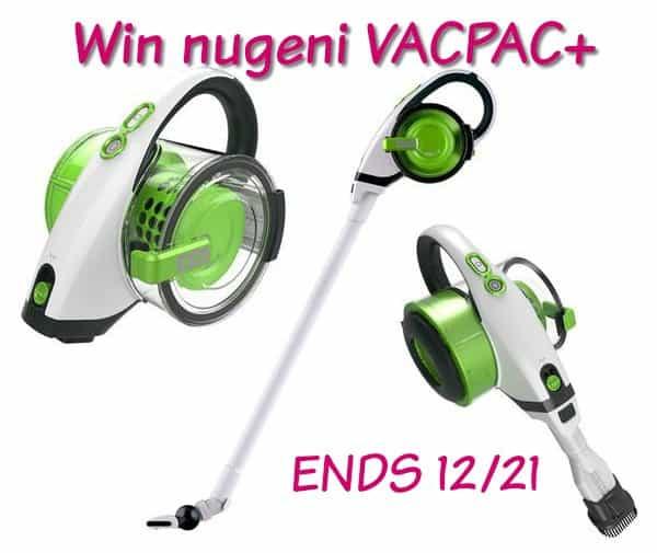 nugeni VACPAC+, VACUUM CLEANER