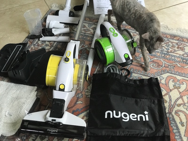 nugeni vacuum and steamer system