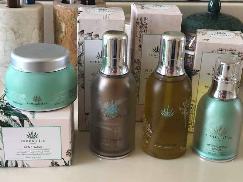 Organic Cannabliss Skin Care