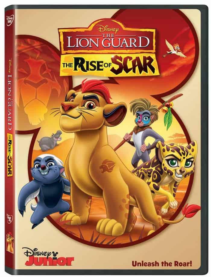 DISNEY MOVIE, THE LION GUARD DVD