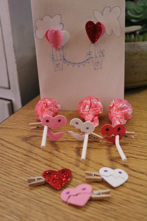 MONSTER Heart Clips Craft Tutorial