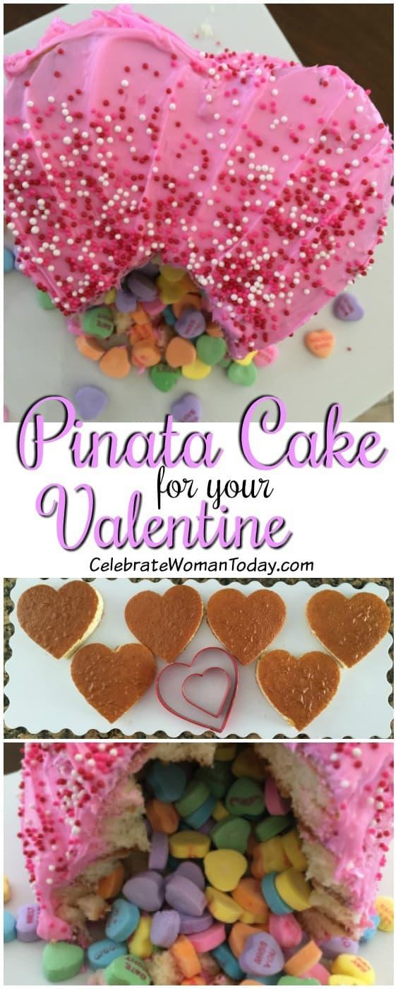 Valentine Pinata Cake Recipe