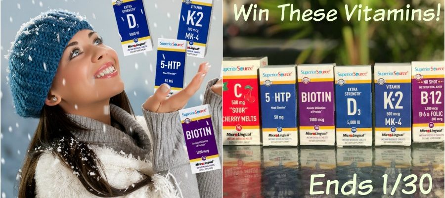 Who Wants To Win Superior Source Sublingual Vitamins for Family?
