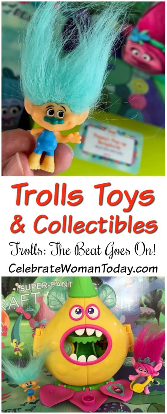 Trolls The Beat Goes On, Toys, Play Buddies