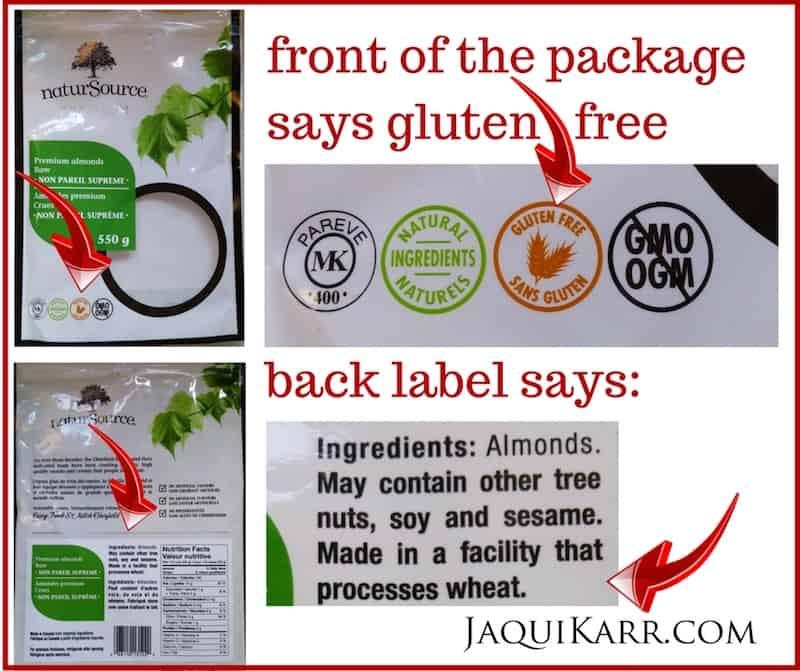 Jaqui Karr, celiac disease, Minimize Gluten Contamination