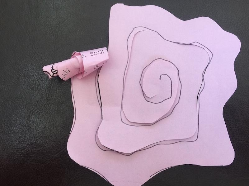 Flower Twisting Craft Tutorial Quick Easy Craft Recipeideas 4