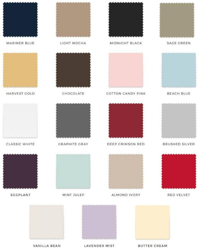 PeachSkinSheets bedsheets swatch program