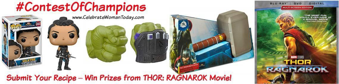 Thor Ragnarok Recipe Contest