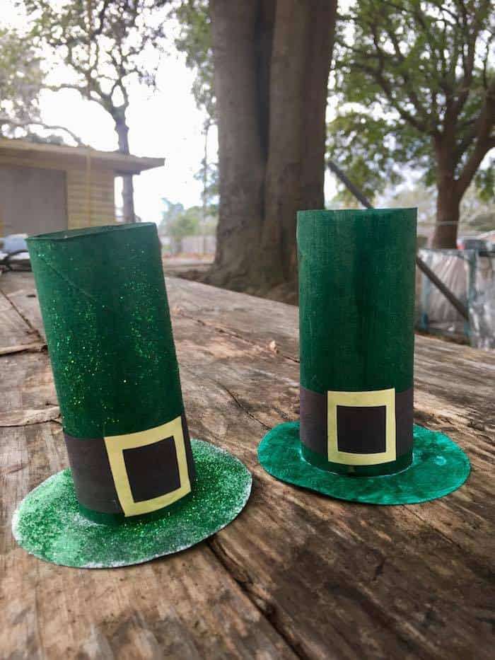 Leprechaun Hats Craft Tutorial, St Patricks Craft Tutorial